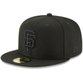 San Francisco Giants New Era Primary Logo Basic 59FIFTY Fitted Hat - Black