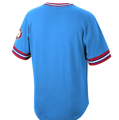 St. Louis Cardinals Mitchell & Ness Cooperstown Collection Wild Pitch Jersey T-Shirt - Light Blue