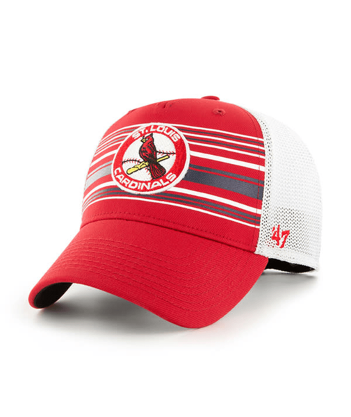 '47 St. Louis Cardinals Cooperstown Elevation Contender Stretch-Fit Adjustable Hat
