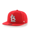 St Louis Cardinals '47 Brand No Shot Captain Wool Snapback Adjustable Red Hat