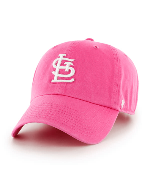 47' St. Louis Cardinals Magenta Cleanup Adjustable Cap