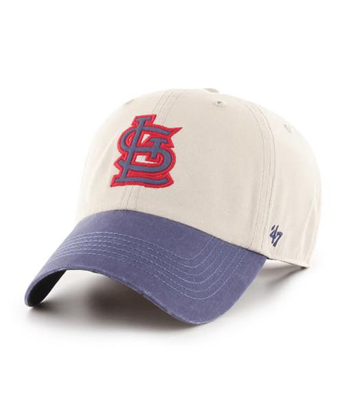St. Louis Cardinals 47' Brand Bone Rivington Clean up Adjustable Hat