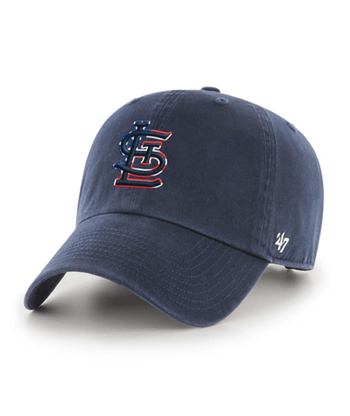 St. Louis Cardinals 47' Brand Spangled Banner Clean Up Adjustable Hat