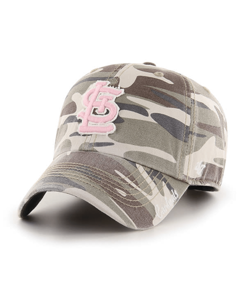 St. Louis Cardinals 47' Brand Faded Camo Tarpoon Miata Clean Up Adjustable Hat