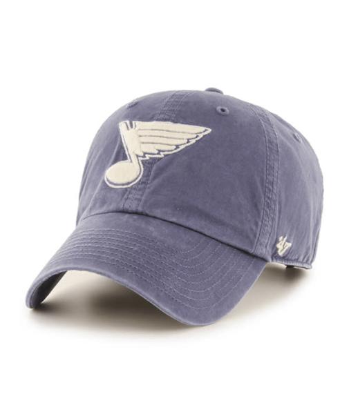 St. Louis Blues 47' Brand Portal Hudson Cleanup Adjustable Hat