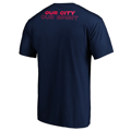 Men's St. Louis City SC Fanatics Branded Navy Our City T-Shirt
