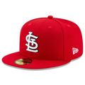 Men's St. Louis Cardinals New Era Red 2020 Postseason Side Patch 59FIFTY Fitted Hat