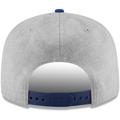 Men's New Era Heathered Gray/Blue New York Knicks 2-Tone 9FIFTY Adjustable Snapback Hat
