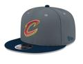 Cleveland Cavaliers NBA New Era 950 Snapback Hat Heather Navy