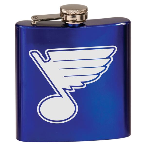 St. Louis Blues Royal Blue 6oz Flask