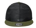 NE407  New Era ® Camo Flat Bill Snapback Cap