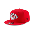 Men's Kansas City Chiefs New Era Red Super Bowl LV Bound Side Patch 950 Snapback Hat
