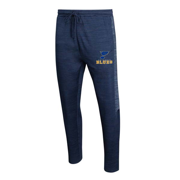 Men's Concepts Sport navy St. Louis Blues Bullseye Knit Jam Pants