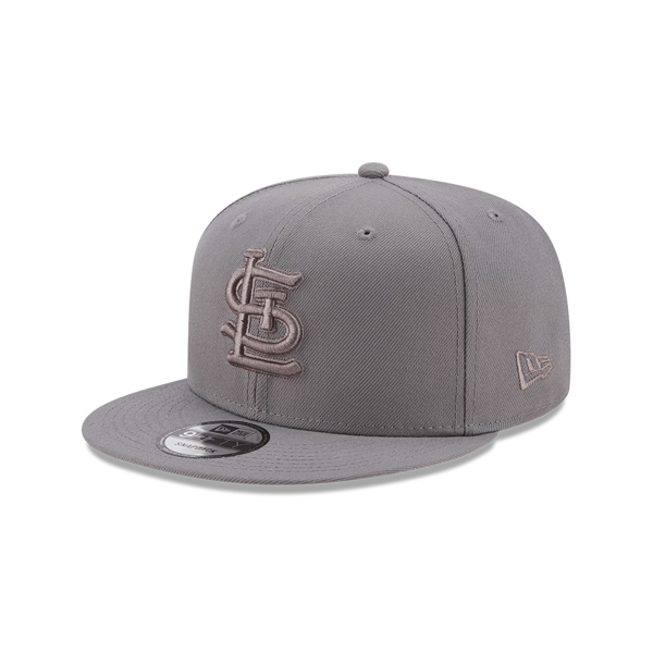 St. Louis Cardinals Custom Grey on Grey Color Pack 5950 New Era Fitted Cap