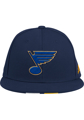 Adidas St Louis Blues Mens Navy Blue Baseball Fitted Hat