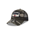 Men's St. Louis Cardinals New Era Camo Patch A-Frame 9FORTY Snapback Hat