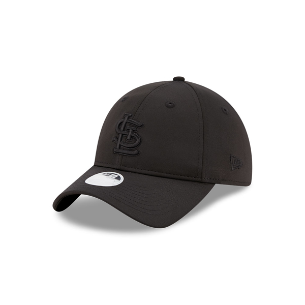 St. Louis Cardinals New Era Sharp 920 Adjustable Black Hat