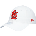 Youth St. Louis Cardinals New Era Core Classic II 9TWENTY Adjustable Hat – White