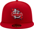 New Era St. Louis Cardinals Red Local 59FIFTY Fitted Hat