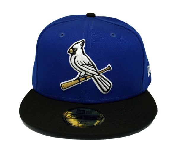 St. Louis Cardinals Winter Blue Custom Fitted 5950 by Headz n Threadz