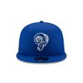 Los Angeles Rams New Era Omaha Throwback 950 Royal Snapback