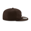 Cleveland Browns New Era Throwback 9FIFTY Adjustable Snapback Hat - Brown
