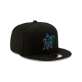 Miami Marlins New Era On-Field Authentic Collection 950 Snapback Hat - Black