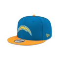 Los Angeles Chargers New Era 9FIFTY Adjustable Snapback Hat - Powder Blue