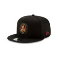 Atlanta United FC New Era On-Field Collection 9FIFTY Snapback Adjustable Hat - Black