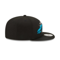 New Era 9FIFTY Carolina Panthers Logo Tear Snapback Hat