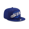 Men's Los Angeles Dodgers New Era Royal Logo Tear 950 Fitted Hat