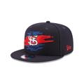 St. Louis Cardinals New Era 9Fifty Logo Tear Snapback