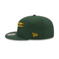 Men's New Era Green Green Bay Packers Logo Tear 9FIFTY Snapback Hat