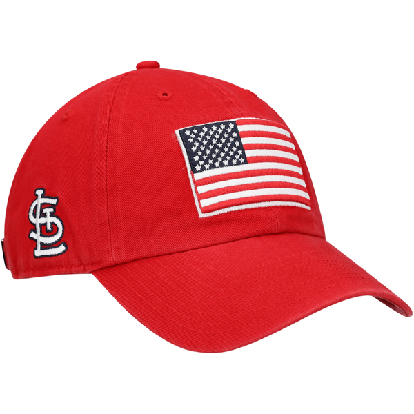 Men's St. Louis Cardinals '47 Red Heritage Front Clean Up Adjustable Hat