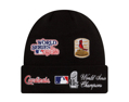 New Era MLB St. Louis Cardinals Champion Patches Knit Cuff Beanie One Size