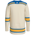 Men's St. Louis Blues adidas Cream 2022 Winter Classic Authentic Jersey