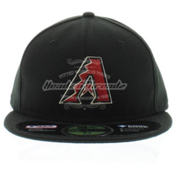 Picture of Arizona Diamondbacks New Era AC On-Field 59FIFTY Alternate Performance Fitted Hat - Black