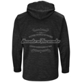 Picture of Men's Colorado Rockies Majestic Black 2018 Postseason Authentic Collection Streak Fleece Pullover Hoodie