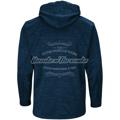 Picture of Men's Atlanta Braves Majestic Navy 2018 Postseason Authentic Collection Streak Fleece Pullover Hoodie