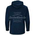 Picture of Men's New York Yankees Majestic Navy 2018 Postseason Authentic Collection Streak Fleece Pullover Hoodie
