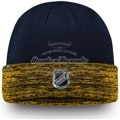 Picture of St. Louis Blues Fanatics Branded Authentic Pro Rinkside Cuffed Knit Hat – Navy/Gold