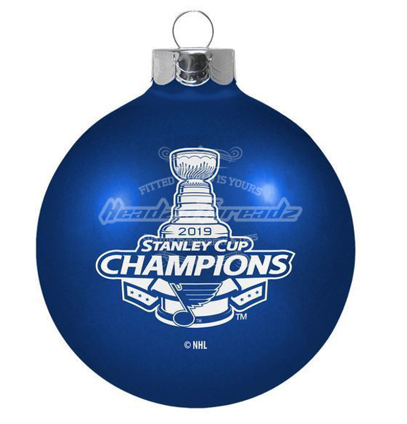 Picture of St. Louis Blues Boelter 2019 Stanley Cup Final Champions Holiday Ball Ornament
