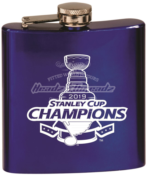 Picture of St. Louis Blues Stanley Cup Champions 6oz Flask