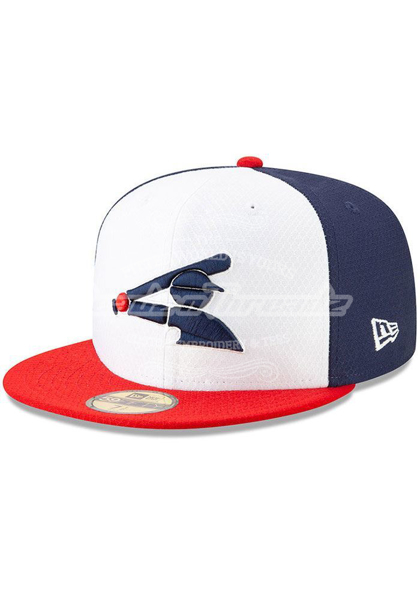 Picture of New Era Chicago White Sox Mens Navy Blue Batting Practice 2019 59FIFTY Fitted Hat