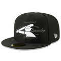 Picture of Chicago White Sox New Era 2019 Batting Practice 59FIFTY Fitted Hat - Black