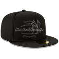 Picture of New York Yankees New Era Clubhouse Collection 59FIFTY Fitted Hat - Black