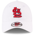 Picture of Men's St. Louis Cardinals New Era White Perforated Pivot 9TWENTY Adjustable Hat