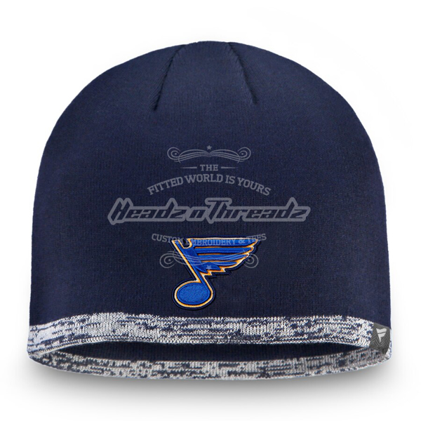 Picture of St. Louis Blues Fanatics Branded Authentic Pro Rinkside Beanie - Navy