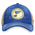Picture of St. Louis Blues Fanatics Branded True Classic Trucker Snapback Hat - Blue/Cream