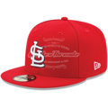 Picture of St. Louis Cardinals New Era Youth Authentic Collection On-Field Game 59FIFTY Fitted Hat - Red